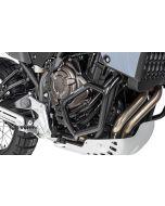 Padacie rámy z nerezovej ocele Yamaha Tenere 700, čierne
