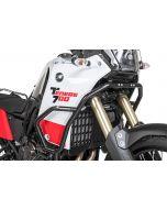 Padacie rámy z nerezovej ocele Yamaha Tenere 700 čierne