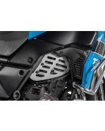 Ochranný kryt motora (set), strieborný pre Yamaha Tenere 700