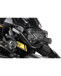 """Mreža svetla / čierna / nerezová pre LED svetlo """"X"""" -  BMW R1250GS/ R1250GS Adventure"""