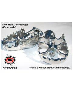 Pivot Pegz - stúpačky *Mark3* pre BMW F700GS / F800GS / F650GS (Twin)/ BMW F650GS / F650GS Dakar / G650GS / G650GS Sertao
