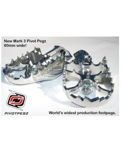 Sklápateľné stupačky Pivot Pegz - *Mark3* BMW R1250GS Adventure/ R1200GS (LC) /BMW R1200GS Adventure (LC)