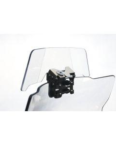 Spoiler / deflátor plexiskla pre BMW R1200GS Adventure *uzamykateľný*