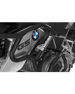 Diaľničné stupačky na ochranný padací rám s priemerom 25 mm BMW R1200GS od 2013+, Triumph Tiger Explorer, KTM LC8