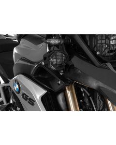 Set prídavných LED svetiel, pravé hmlové / ľavé diaľkové, BMW R1200GS od 2013+, čierne