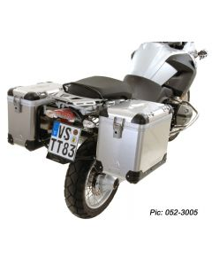ZEGA Pro pannier system for BMW R1200GS up to 2012/ R1200GS Adventure up to 2013