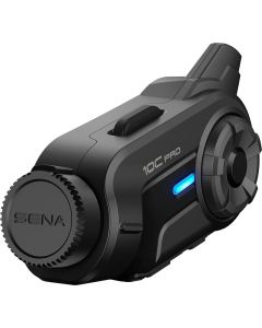 Headset Sena 10C Pro Bluetooth communication system with integrated Actioncam
