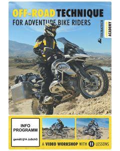 "Video DVD ""Off-road technique for adventure bike riders"" (english)"