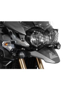 Kryt predného svetla *nerez* s rýchlym systémom odobratia Triumph Tiger 800/800XC a Tiger Explorer