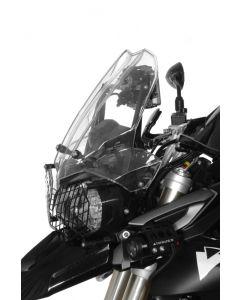 Nastaviteľný adaptér plexištítu + GPS hrazda pre Triumph Tiger 800GPS-Halter / GPS-držiak / držiak pre navigačné systémy