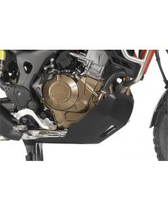 Spodný kryt motora RALLYE EXTREME Honda CRF1000L Africa Twin, čierny
