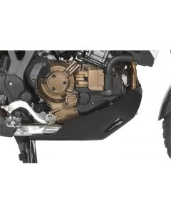 Spodný kryt motora RALLYE Honda CRF1000L Africa Twin, čierny