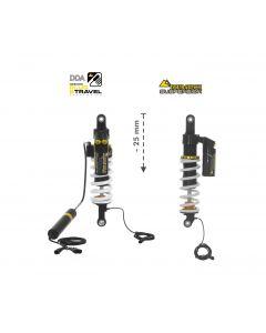 Touratech Suspension znižovací set tlmičov Plug & Travel -25mm BMW R1200GS Adventure (LC) / R1250GS Adventure od 2014